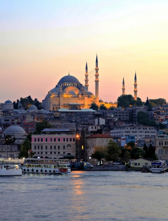 Suleymaniye Mosque in Istanbul - Turkey  photo
