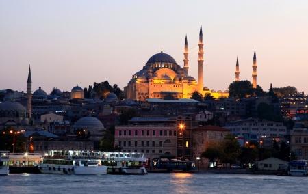 Suleymaniye Mosque in Istanbul - Turkey  photo