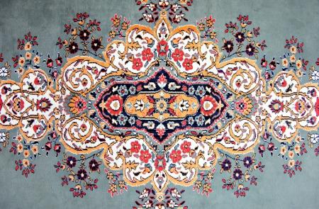 Texture of Turkish Carpet   Kilim photo