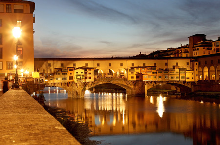 firenze: Ponte Vecchio, Florence, Italy Stock Photo