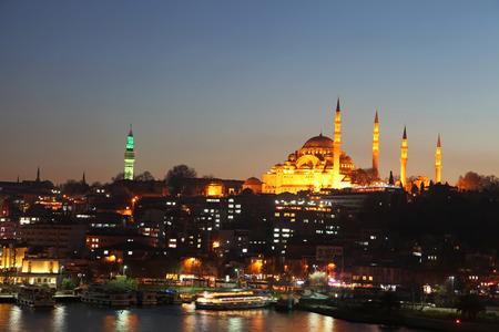 suleymaniye: Suleymaniye Mosque in Istanbul, Turkey