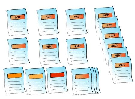 txt: illustration of paper icon