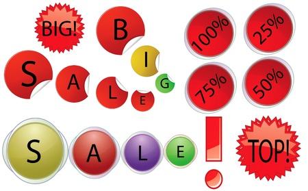 white bacground: Vector objetos en oferta de venta de bacground blanco.