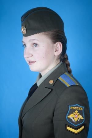 cadet blue: Female military academies