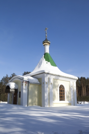 righteous: Chapel of the Holy Righteous Priest Maxim Totma  Verhovazhe, Vologda region, Russia