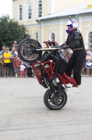 masterly: Masterly control of the motorcycle  Alexei Kalinin