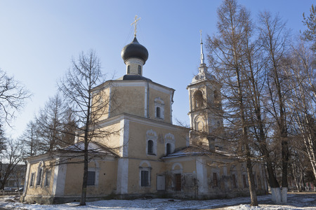 beheading: Church of the Beheading of John the Baptist in Roschene  Vologda, Russia