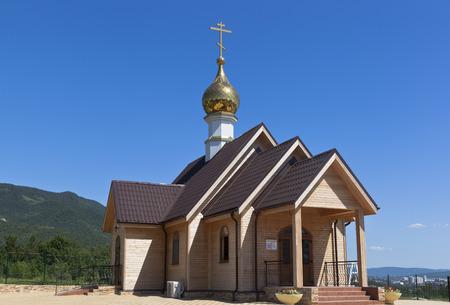 krasnodar region: Temple in honor of St. Tsarina Alexandra in Gelendzhik, Krasnodar region, Russia