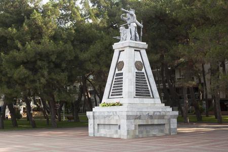 krasnodar region: Monument To Fighters for Soviet Power on the waterfront Gelendzhik, Krasnodar region, Russia