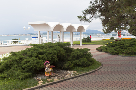 krasnodar region: Design waterfront of the resort city Gelendzhik, Krasnodar region, Russia