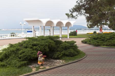 krasnodar region: Design waterfront of the resort city Gelendzhik, Krasnodar region, Russia