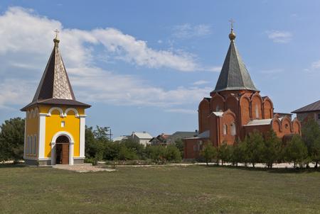 igor: Gelendzhik metochion Holy Trinity St. Sergius Lavra. Chapel Igor of Chernigov and church Mikhail of Chernigov in the city Gelendzhik, Krasnodar region, Russia