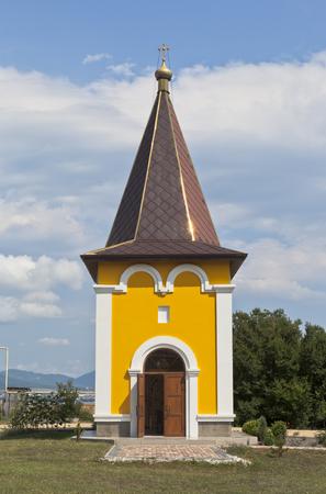 igor: Chapel Igor of Chernigov in the city resort Gelendzhik, Krasnodar Region, Russia