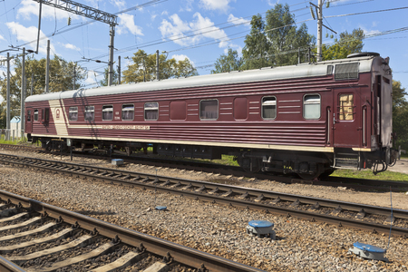 flaw: Wagon flaw VD 1MT5K designed to check the status of the railway line