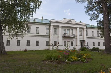 balustrades: Residence Archimandrite Kirillo-Belozersky Monastery, Vologda region, Russia