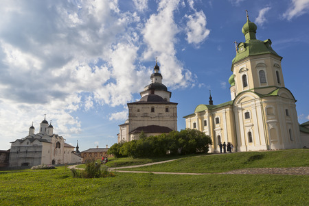 transfiguration: Churches Transfiguration of Our Lord, Archangel Gabriel and Kirill Belozersky in Kirillo-Belozersky monastery Vologda region, Russia