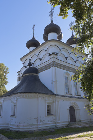 spassky: Church of the Saviour Merciful in the city of Belozersk Vologda region, Russia Stock Photo