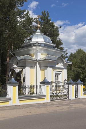 Chapel of St. Gerasimos in of the Vologda city Vologda, Russia