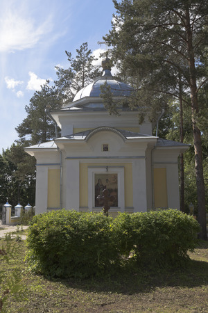 Chapel of St. Gerasimos of the Vologda in city Vologda, Russia