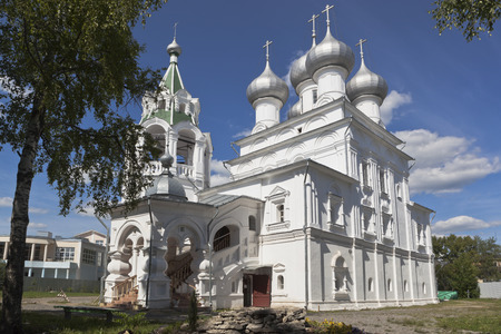 konstantin: Temple for the sake of Saint tsars equal to the apostles Konstantin and Elena in Vologda, Russia