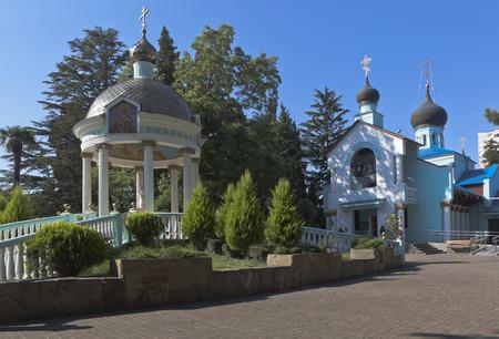holy trinity: Holy Trinity Church in Adler, Sochi, Krasnodar region, Russia