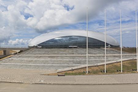 krasnodar region: Great Ice Palace in Sochi Olympic Park, Adler, Krasnodar region, Russia