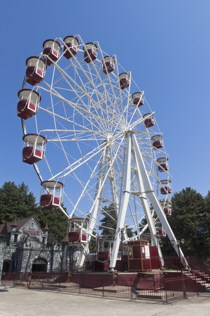krasnodar: Ferris wheel in the park attractions resort town of Adler, Sochi, Krasnodar region, Russia