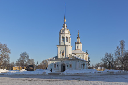 Church of St. Alexander Nevsky in the city of Vologda, Russia