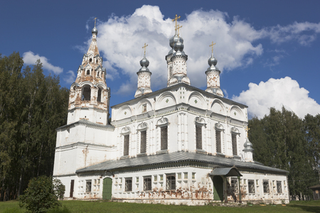 spassky: Church of the Transfiguration of the Savior-Transfiguration parish in the city of Veliky Ustyug, Vologda Region, Russia