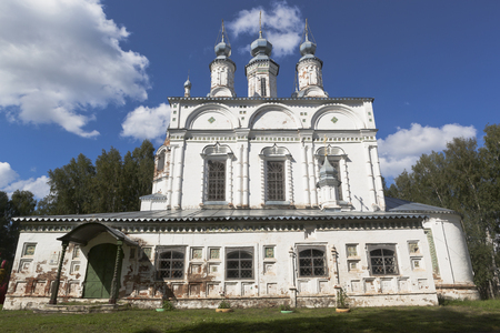 Transfiguration Church of the Savior-Transfiguration parish in Veliky Ustyug, Vologda region, Russia