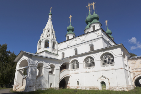 Cathedral of Michael the Archangel in the Michael-Arkhangelsk Monastery in Veliky Ustyug, Vologda Region, Russia