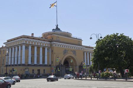 East Admiralty Pavilion in St. Petersburg Petersburg, Russia