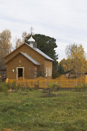 Church of the Transfiguration on the Spassky churchyard, Tarnogsky District, Vologda Region, Russia