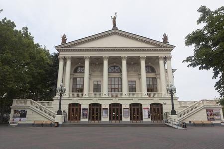 Sevastopol, Crimea, Russia - July 24, 2019: Sevastopol Academic Russian Drama Theater named after A.V. Lunacharsky, Crimea Banque d'images - 132419659