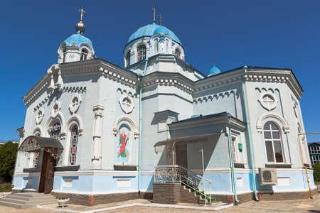 Church of Elijah the Prophet in the city of Saki, Crimea, Russia