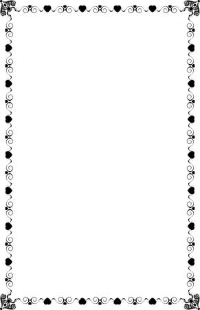 A4 크기 페이지 경계선