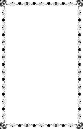 A4 Size Page Borders Stock Vector - 19541280