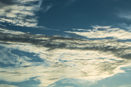 ozone layer: Sky and cloud