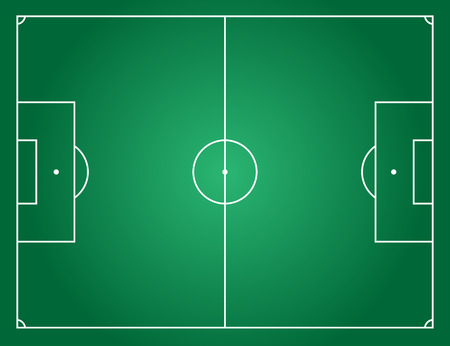 human: Football field by standard the largest proportion.