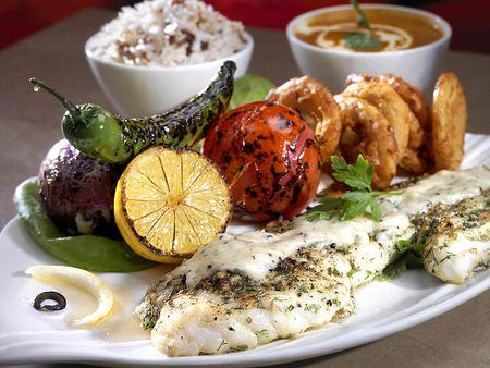 Diferentes variedades de alimentos Foto de archivo - 3685788