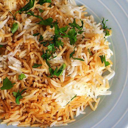 Vegitable Biryani Rice plate