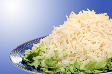 Cooked White Parboiled Basmati Rice