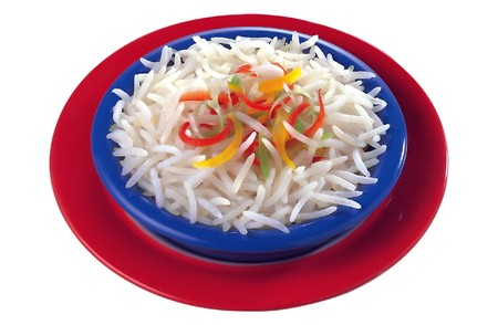 Bowl of Basmati Rice Series 3 Stock Photo - 4061922
