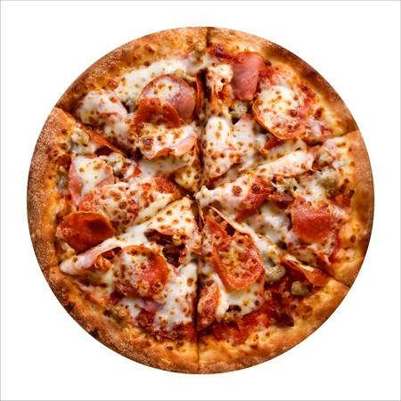 pizza fresh Stock Photo