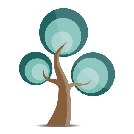 tree logo: Vector Tree logo Illustration