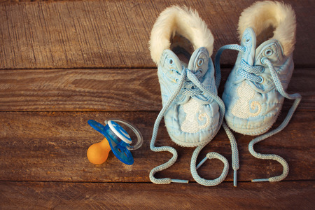 2015 year written by laces of children shoes photo