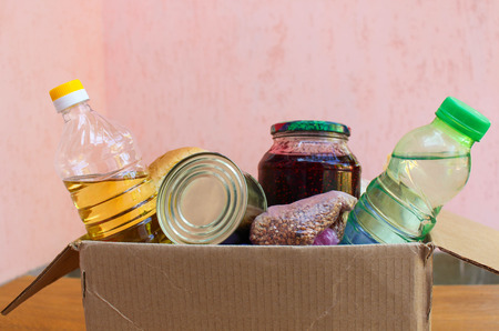 A box with food