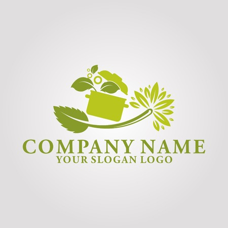 the logo of a healthy eating house