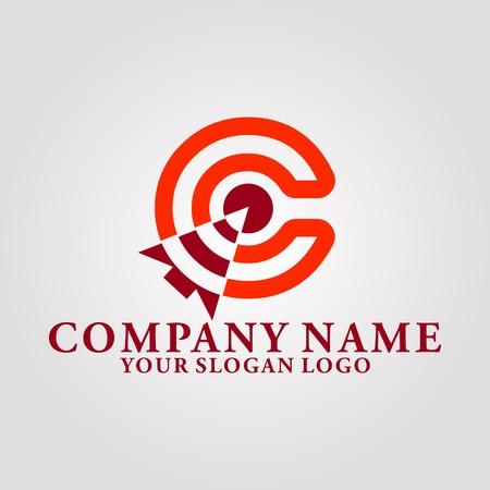 hint logo letter c