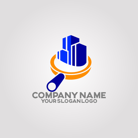 a logo that describes services that provide home inspection before property purchases and inspections. The target audience is home buyers and real estate agents.